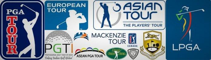 circuit professionnels golf